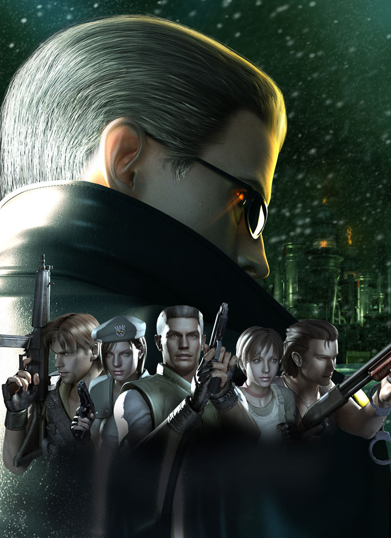 Resident Evil The Umbrella Chronicles SIDE